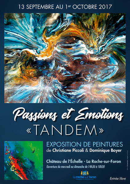 "Exposition Passions et Emotions ""Tandems"""